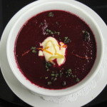 Borscht Soup w/ Herbed Tofu Sour Cream