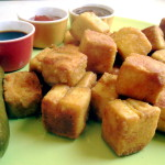 Golden Tofu Nuggets