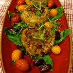 Lentil Wheat berry Cakes